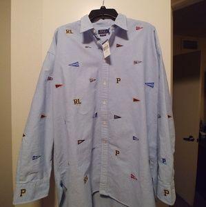 Polo Ralph Lauren Polo Varsity Button up Shirt XL